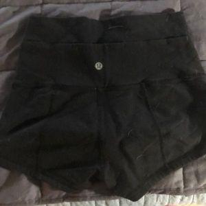 lululemon athletica Shorts - Lululemon booty shorts